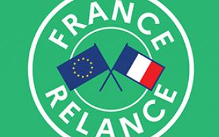 Logo label relance